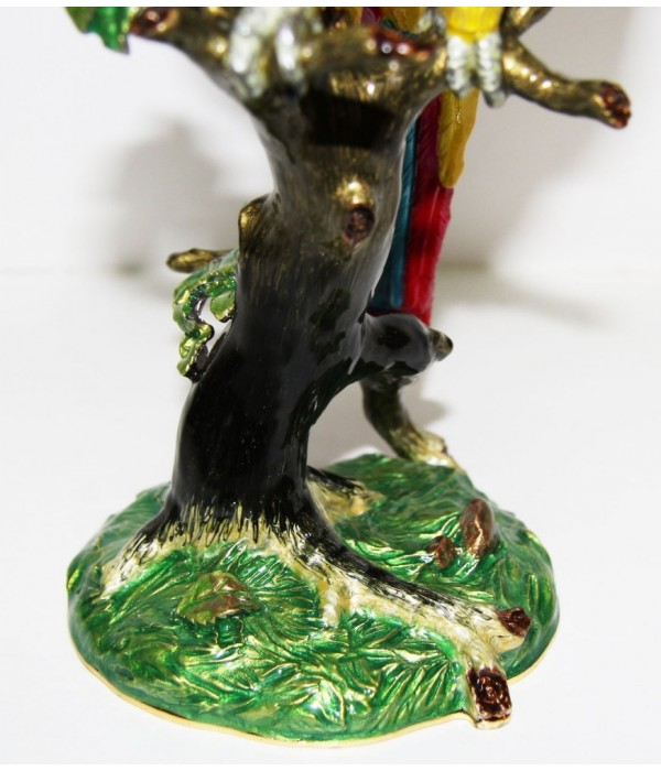 Copy Of Faberge JD0921-2 Box &quot-macaw parrot&quot-, 26 see - Copy of Faberge