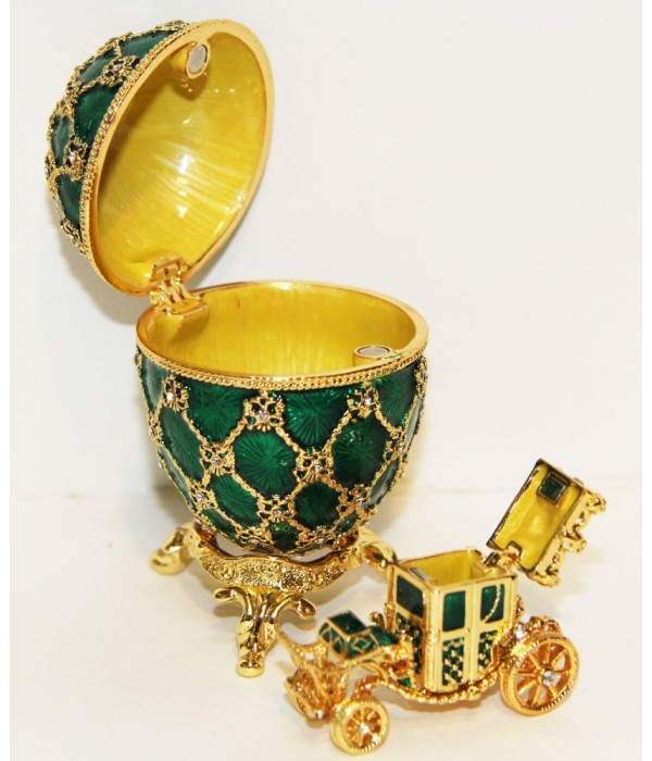 Copy Of Faberge JD0725A-4+JD0767-4 Easter egg, - Copy of Faberge
