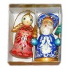 New Year and Christmas christmas tree toy set 2 pcs.