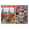 Postcards Set Red Square Moscow